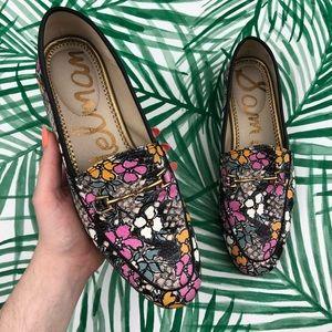 Sam Edelman Loraine Floral Loafers Size 7.5